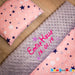 personalised baby girl blanket with stars ireland