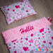 Personalised pink blanket ireland