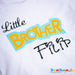 Big or Little Brother- Personalised T-Shirt