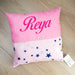 Personalised Pillow for Girl Cork