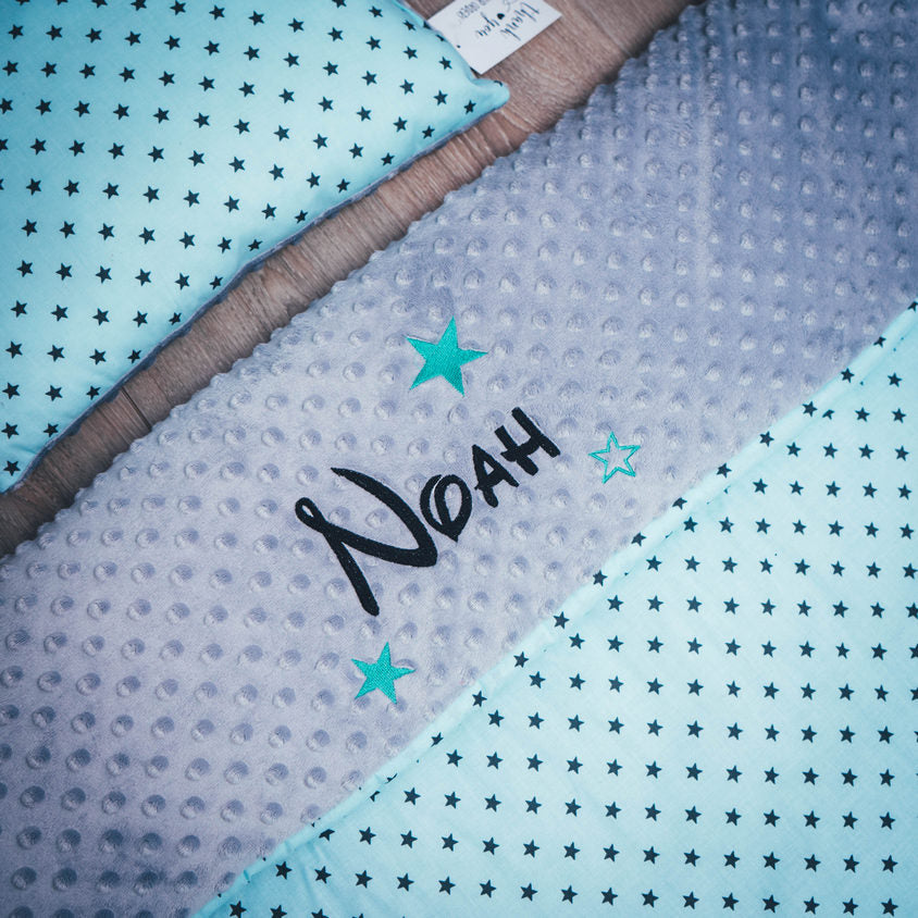 personalised blanket with stars limerick