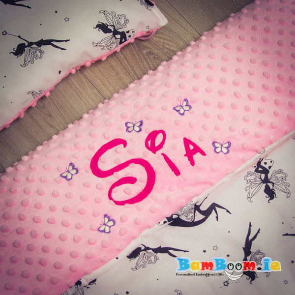Personalised baby girl blanket ireland