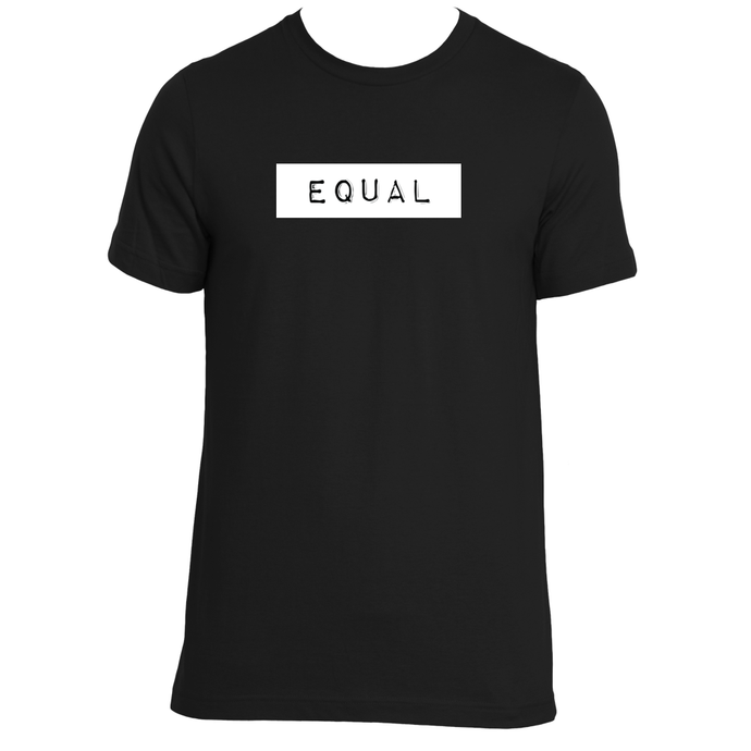 WE ARE ALL EQUAL UNISEX ORGANIC T-SHIRT / 3 COLORS AVAILABLE
