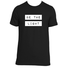 BE THE LIGHT UNISEX ORGANIC T-SHIRT / 3 COLORS AVAILABLE