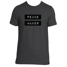 PEACE MAKER UNISEX ORGANIC T-SHIRT / 3 COLORS AVAILABLE