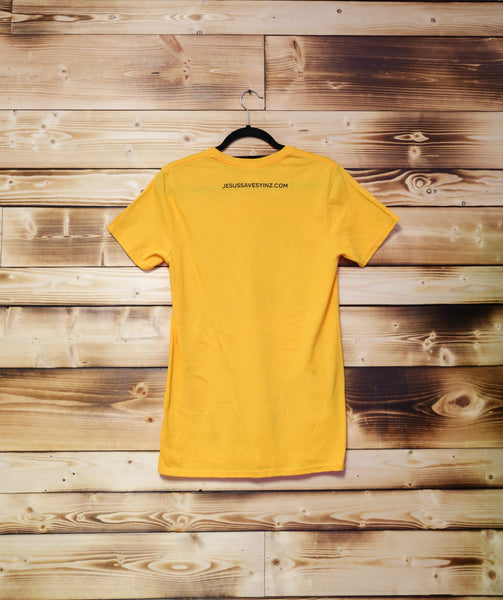 Mens Steeler Gold Short Sleeve Tee