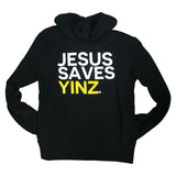 Mens Lightweight Hoodie - Jesus Saves Yinz