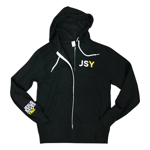 Womens Lightweight Hoodie - Jesus Saves Yinz