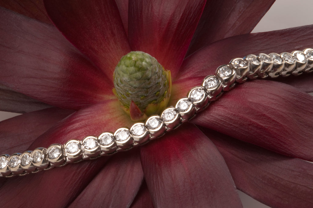Custom Diamond Tennis Bracelet Washington DC Bethesda