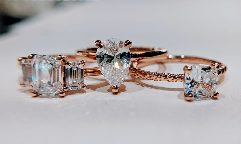 "Rose gold engagement rings: is rose ""too trendy""?"