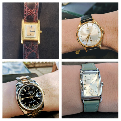 watches secrete fine jewelry washington dc hamilton cartier vintage rolex