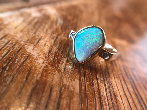 Custom Opal Ring, Handmade Jewelry, Washington DC, Bethesda
