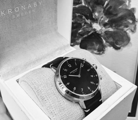 kronaby nord connected watch wedding gift washington dc smart watch analog secrete