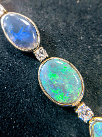 Custom Opal bracelet, Handmade Jewelry, Washington DC, Bethesda
