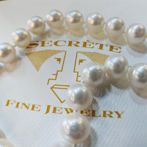 Custom Jewlery Bethesda Maryland Washington DC Dupont Circle south sea pearls
