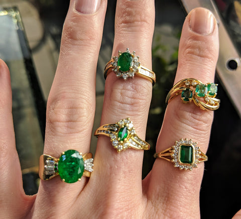 vintage engagement rings washington dc emeralds estate jewelry secrete fine jewelry