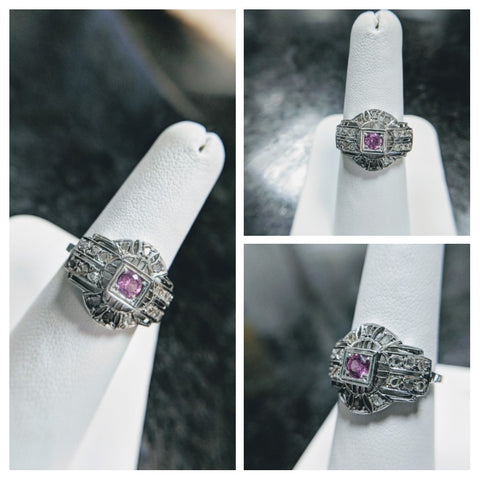 vintage art deco antique engagement ring estate custom jewelry secrete washington dc bethesda best