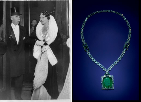 makay emerald smithsonian dc jewelry necklace art deco secrete washington famous emeralds