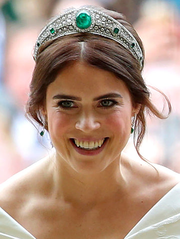 princess eugenie emerald tiara secrete fine jewelry