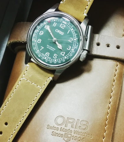oris limited edition big crown RAG pointer date green secrete fine jewelry washington dc mens accessories holiday gift guide