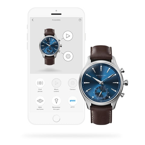 kronaby sekel 41mm smartwatch blue hybrid washington dc secrete fine jewelry trustworthy best watches men gift guide christmas