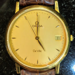 vintage omega deville 80s dress watch best luxury used watches washington dc mens accessories dupont circle