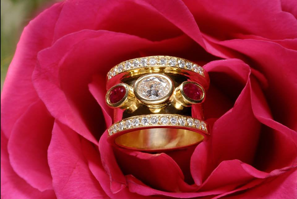 Ruby Signature Ring