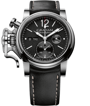 Chronofighter Vintage - Black Grained Dial