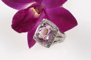 Pink Kunzite Signature Ring
