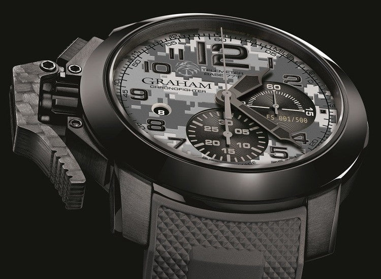 Graham Chronofighter Oversize Navy Seal Foundation Limited Edition Watch