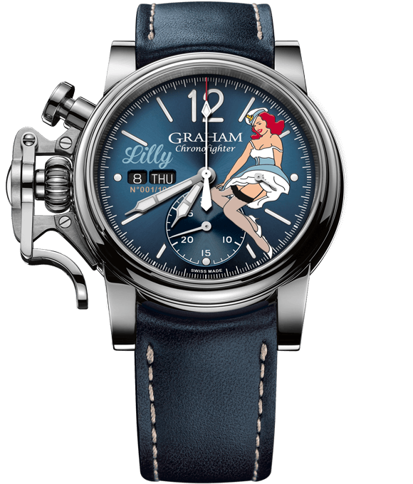 "Chronofighter Vintage - Nose Art Ltd ""Lilly"""