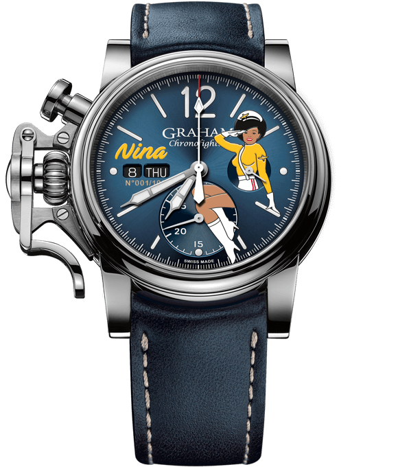 "Chronofighter Vintage - Nose Art Ltd ""Nina"""