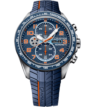 Silverstone RS Racing - Blue and Orange Dial