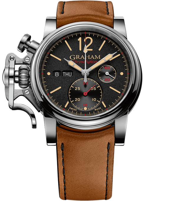 Chronofighter Vintage 15th Edition - Black Dial, Beige and Red Hands