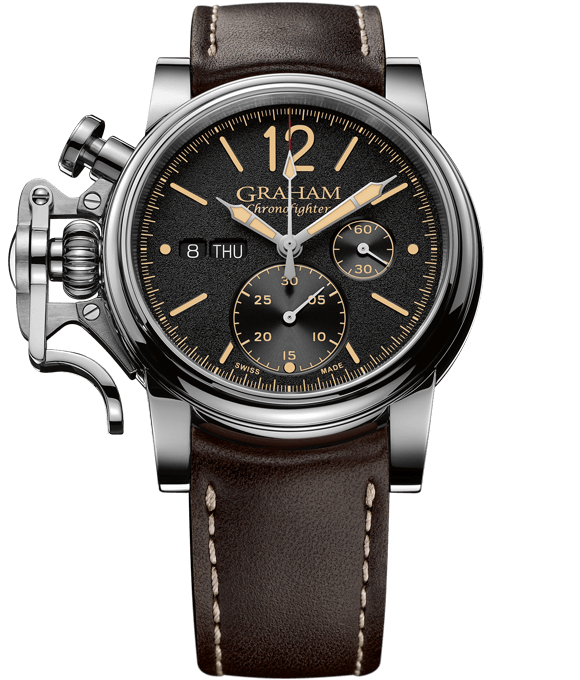 Chronofighter Vintage 15th Edition - Black Dial, Beige Hands