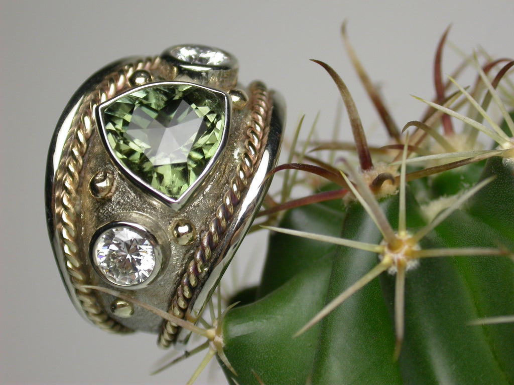 Tourmaline Signature Ring