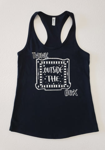 Think Outside The Box Tank Top