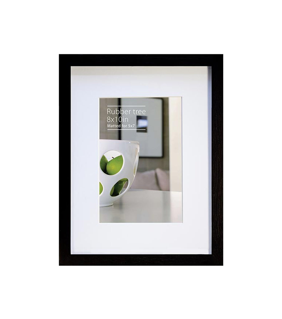8 x 10 black rubberwood ecocare frame