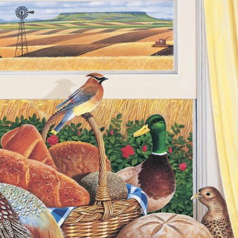Harvest Time - Great Harvest Bread - Note card