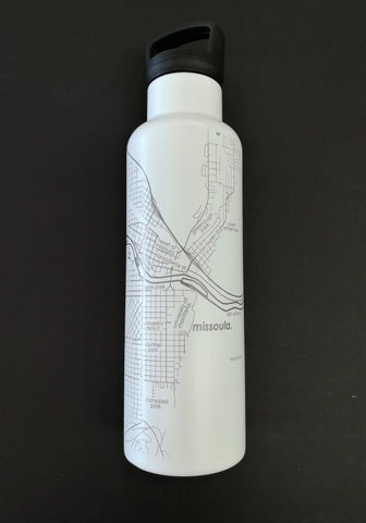 Missoula Map Insulated Hydration Bottle