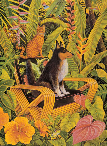 Armchair Safari - Notecard