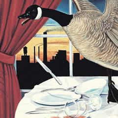 Dinner Goose - Notecard