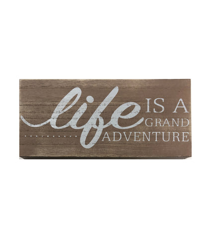 Grand Adventure plaque