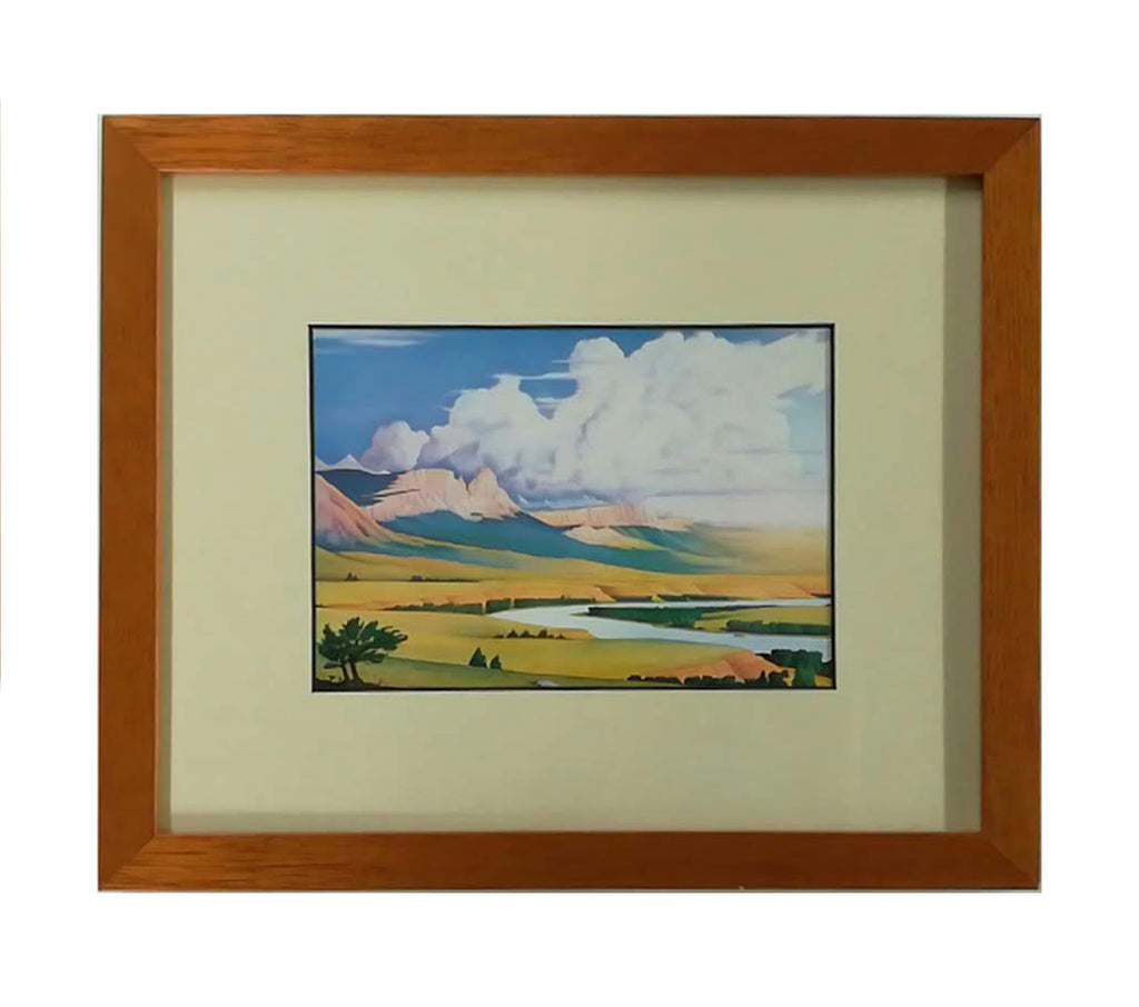 Montana Framed Notecard