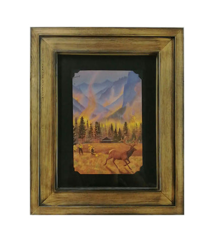 Northern Rockies Fires Notecard Framed 2