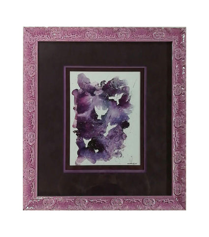 Purple Rain Framed