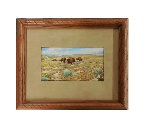Restoring Our Prairie Grasslands Framed Notecard