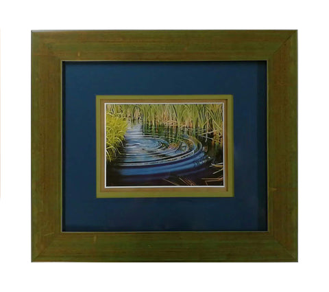 Ripple Framed Notecard