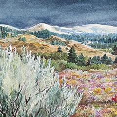 Sagebrush Country - Note card