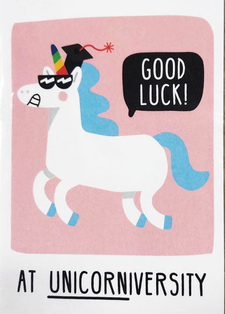 Congratulations Graduate Card Unicorn